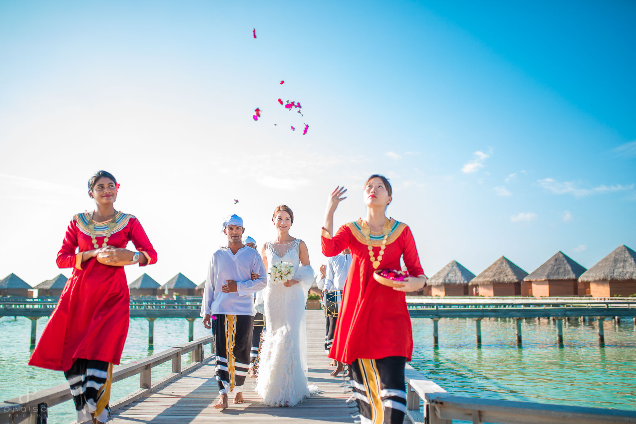 wedding in maldivesin maldives